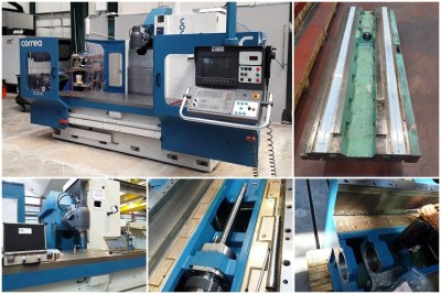 En NC SERVICE reconstruimos fresadoras CORREA CNC de clientes