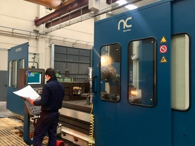 CORREA L30/43 milling machine overhauled by NC Service