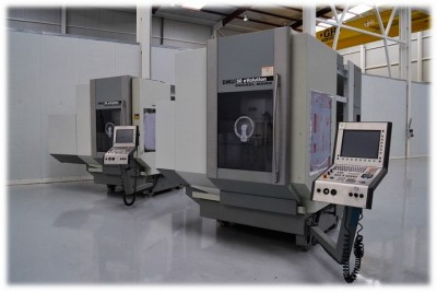 DECKEL MAHO 5-axis vertical machining centres inspected by NC Service