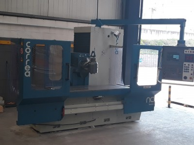 Bed type milling machine CORREA CF20/20 refurbished by Nicolás Correa Service