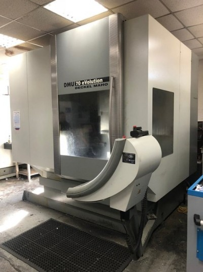 Vertical machining center - DECKEL MAHO - DMU 70eVolution