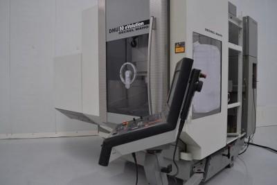 Vertical machining center - DECKEL MAHO - DMU 50eVolution